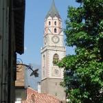 Das Wahrzeichen Merans: Die Pfarrkirche Sankt Nikolaus in Meran