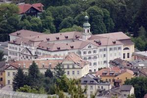 Die Hoofburg in Brixen (Südtirol)