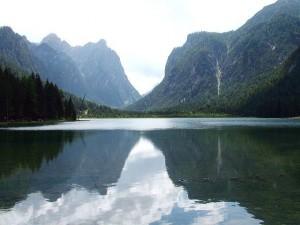 Toblacher See in Bozen