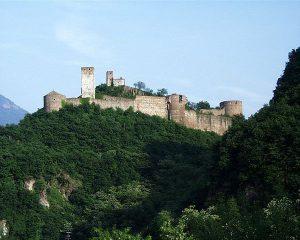 Schloss Sigmundskron bei Bozen in Südtirol
