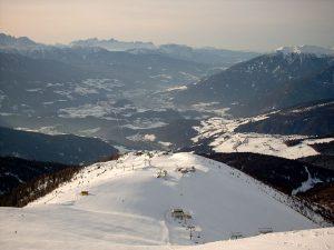 Skifahren im Eisacktal in Südtirol