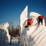 Dolomites Snow Festival (Internationales Schneeskulpturen-Festival) 2017