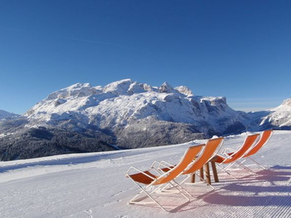 Alta Badia im Winter