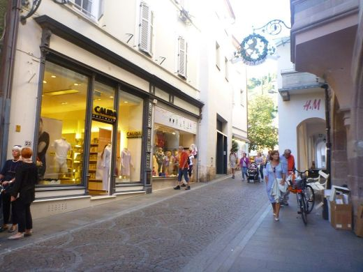 Shopping in Meran